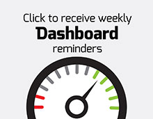 Click to receive weekly Dashboard reminders
