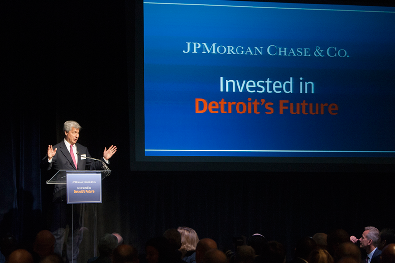 JPMorgan Chase & Co. Announces $100 Million Commitment to Support Detroit's Economic Recovery