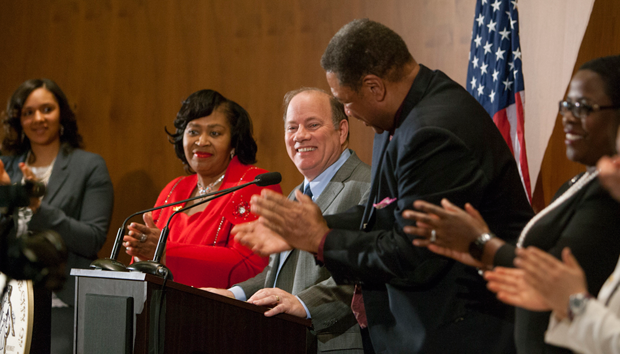 Mayor Mike Duggan Delivers the 2014 State of the City Address