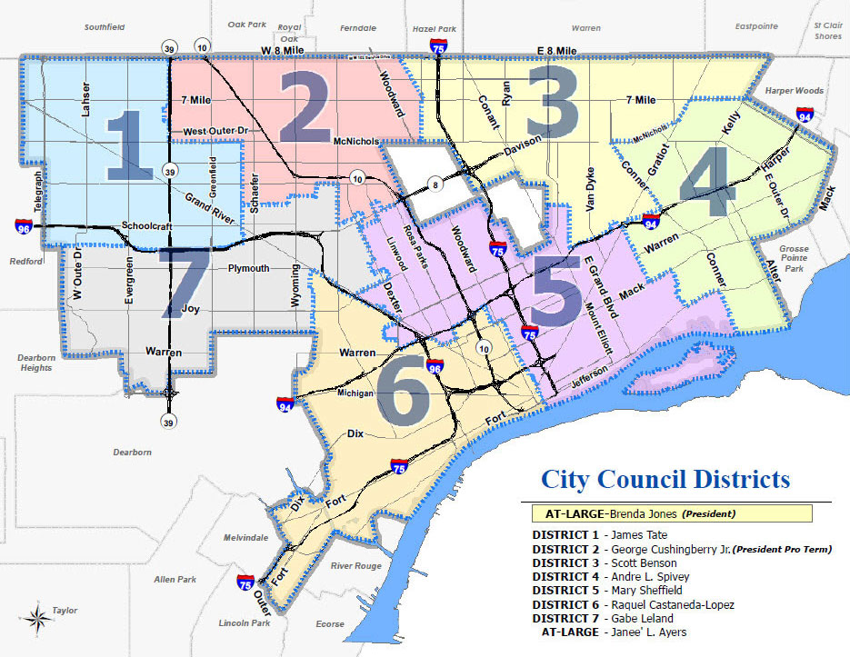 Assessor Map of the City of Detroit