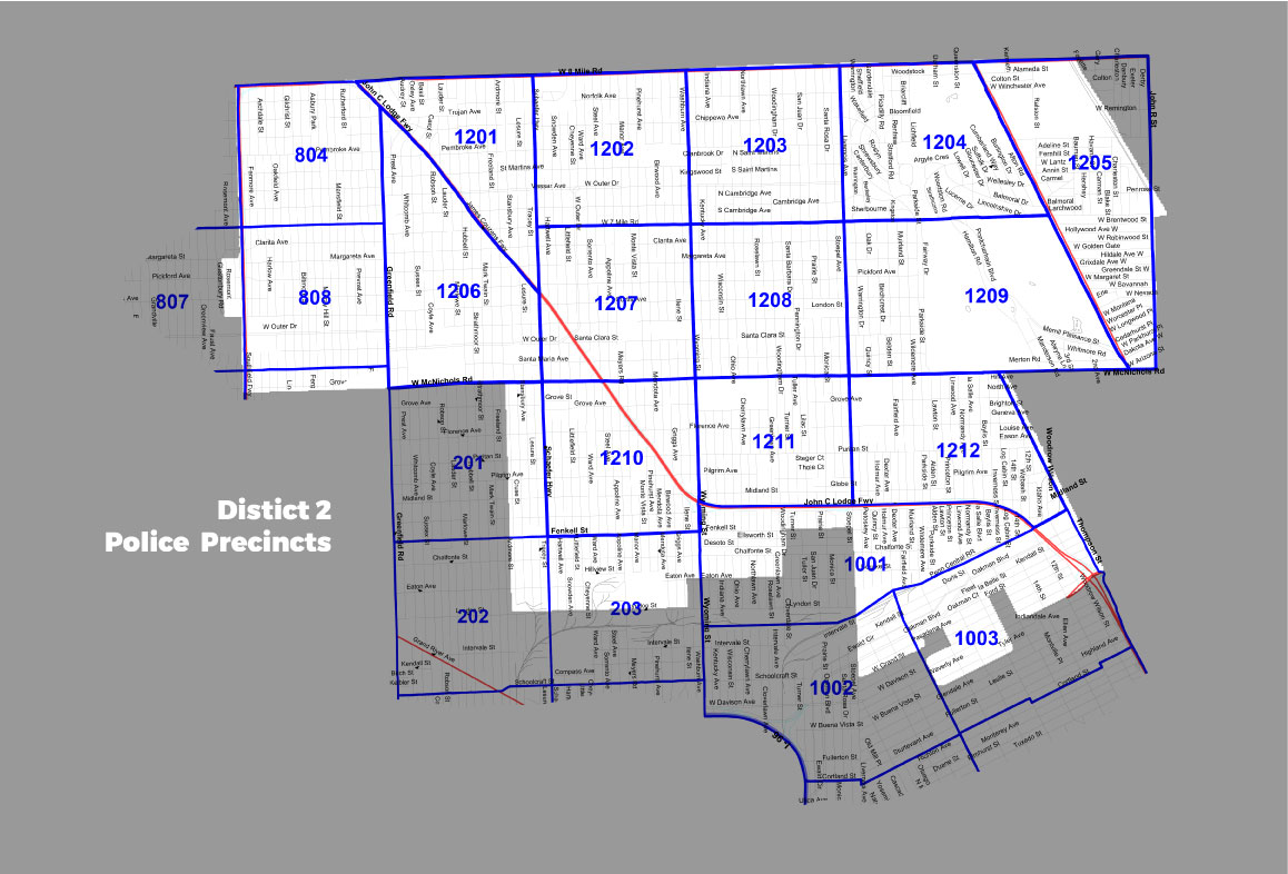 district 2 police precincts