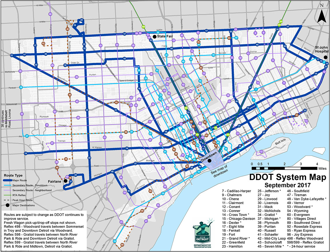 detroit public transportation map bnhspinecom