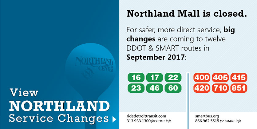 Northland Service Changes