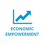 economic empowerment button
