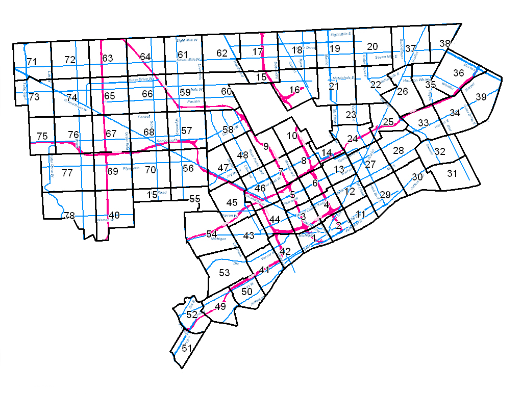 Zoning Map Index