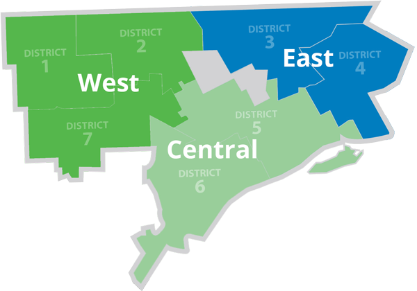Detroit districts