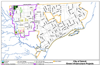 Green infrastructure water and sewerage departments and agencies dwsd has implemented a variety of green stormwater infrastructure projects in the upper rouge tributary permit area to help reduce the amount of stormwater publicscrutiny Image collections