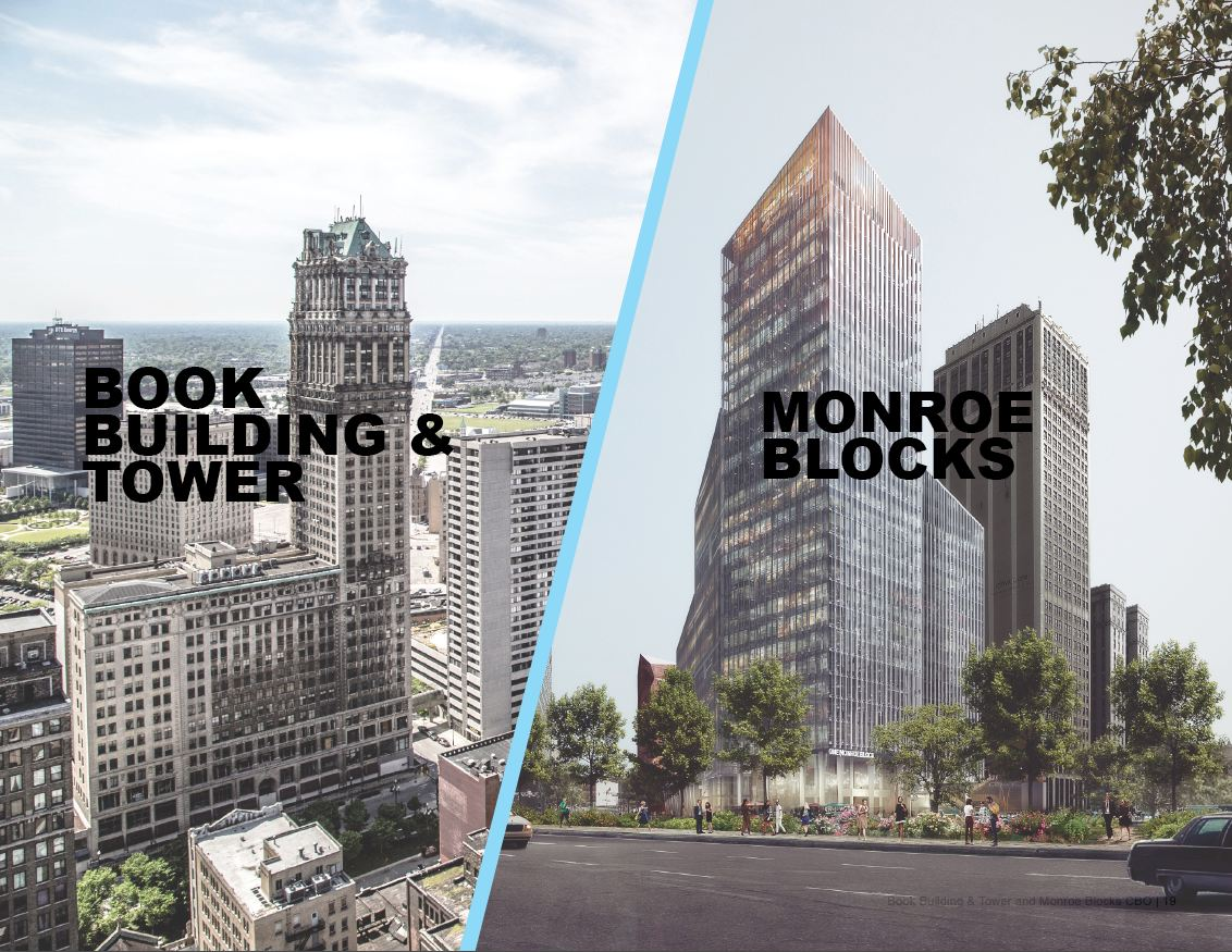 Book Building and Tower and Monroe Blocks