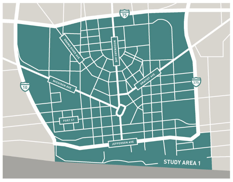 Downtown Transportation Study | City of Detroit
