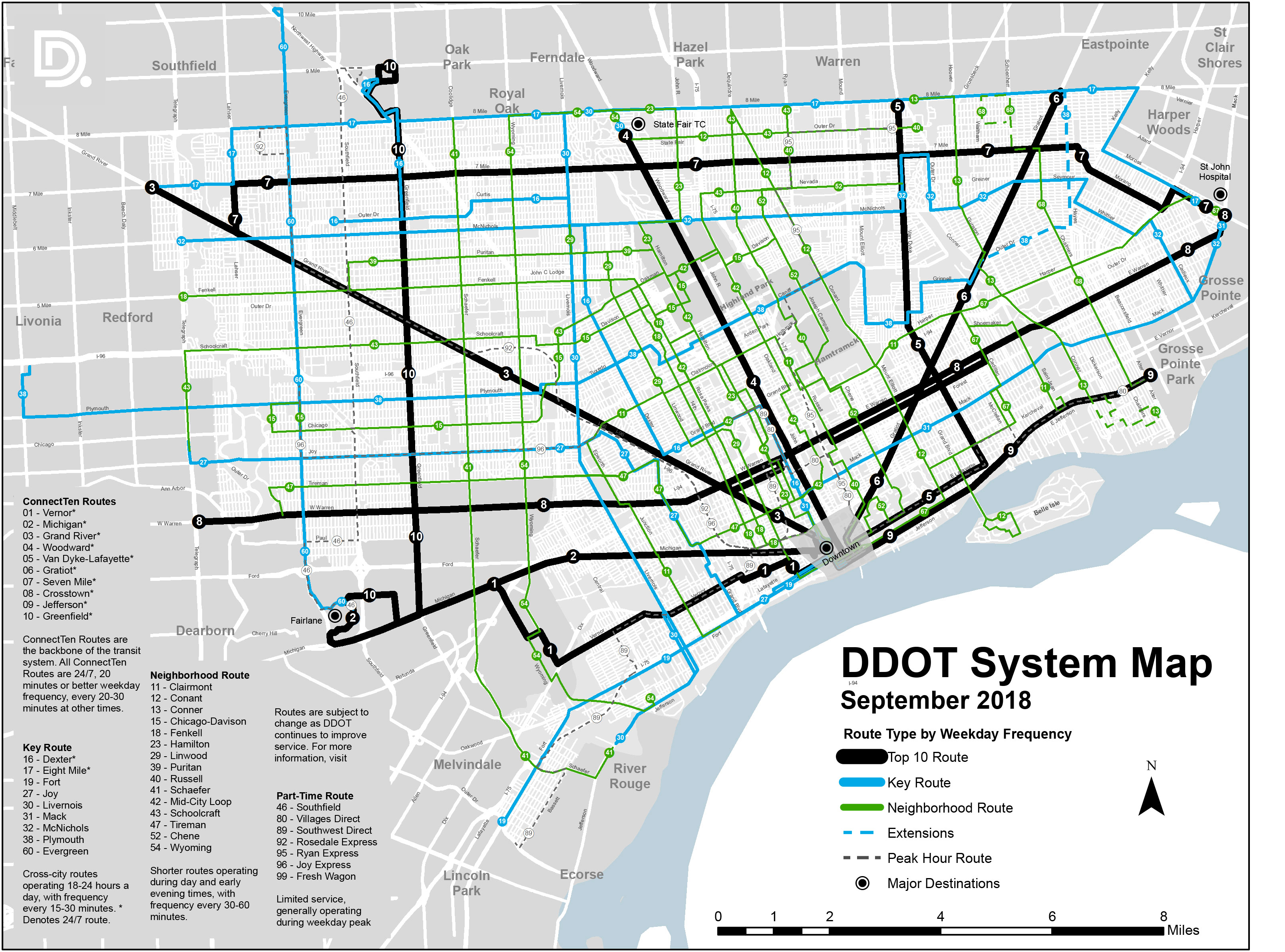 System Map_0 detroit department of transportation city of detroit