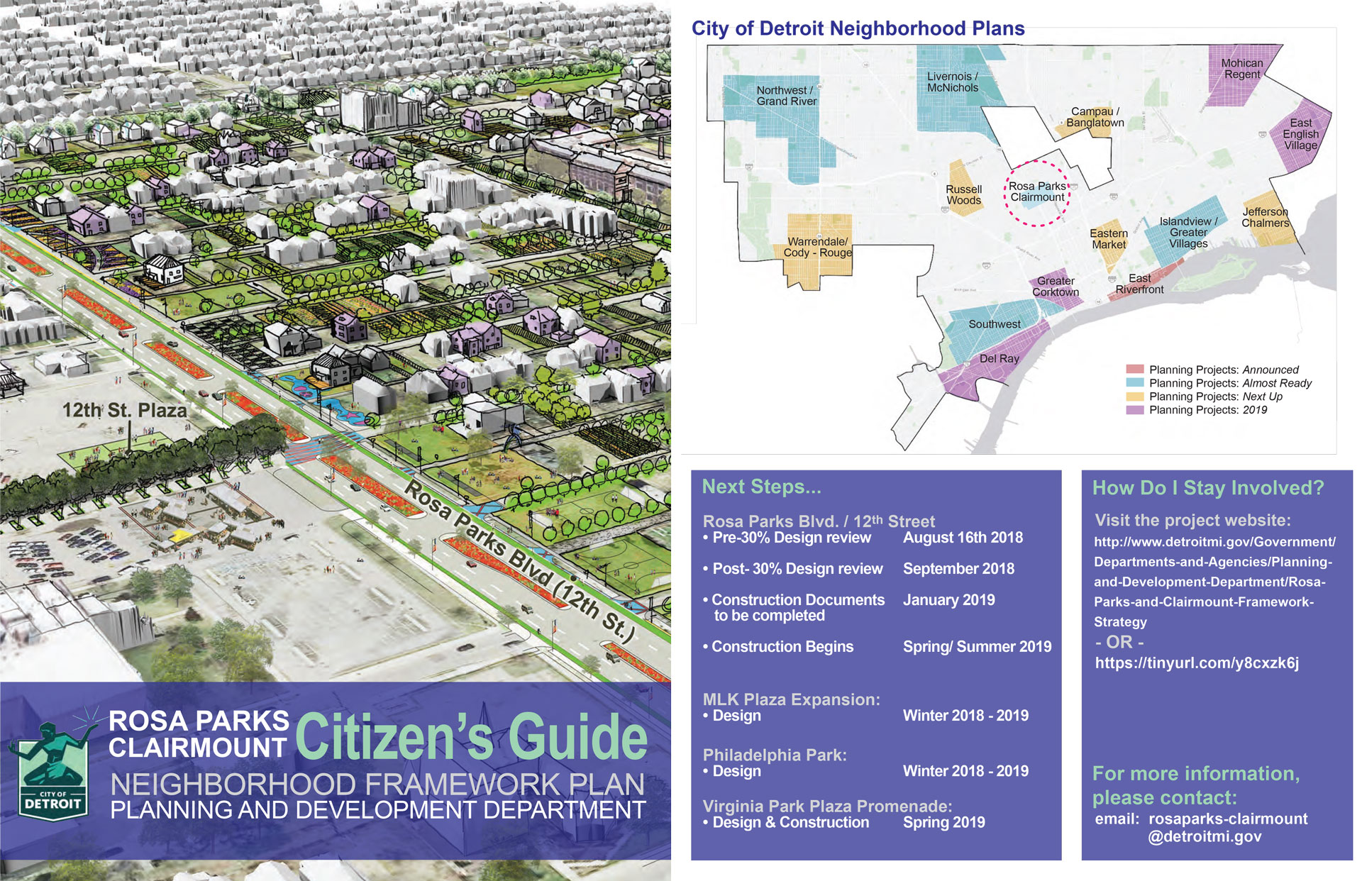 Rosa Parks and Clairmount Citizen Guide