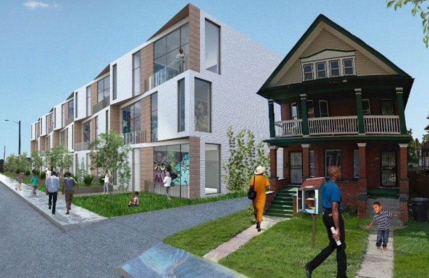Townsend Street Multi-Family Infill