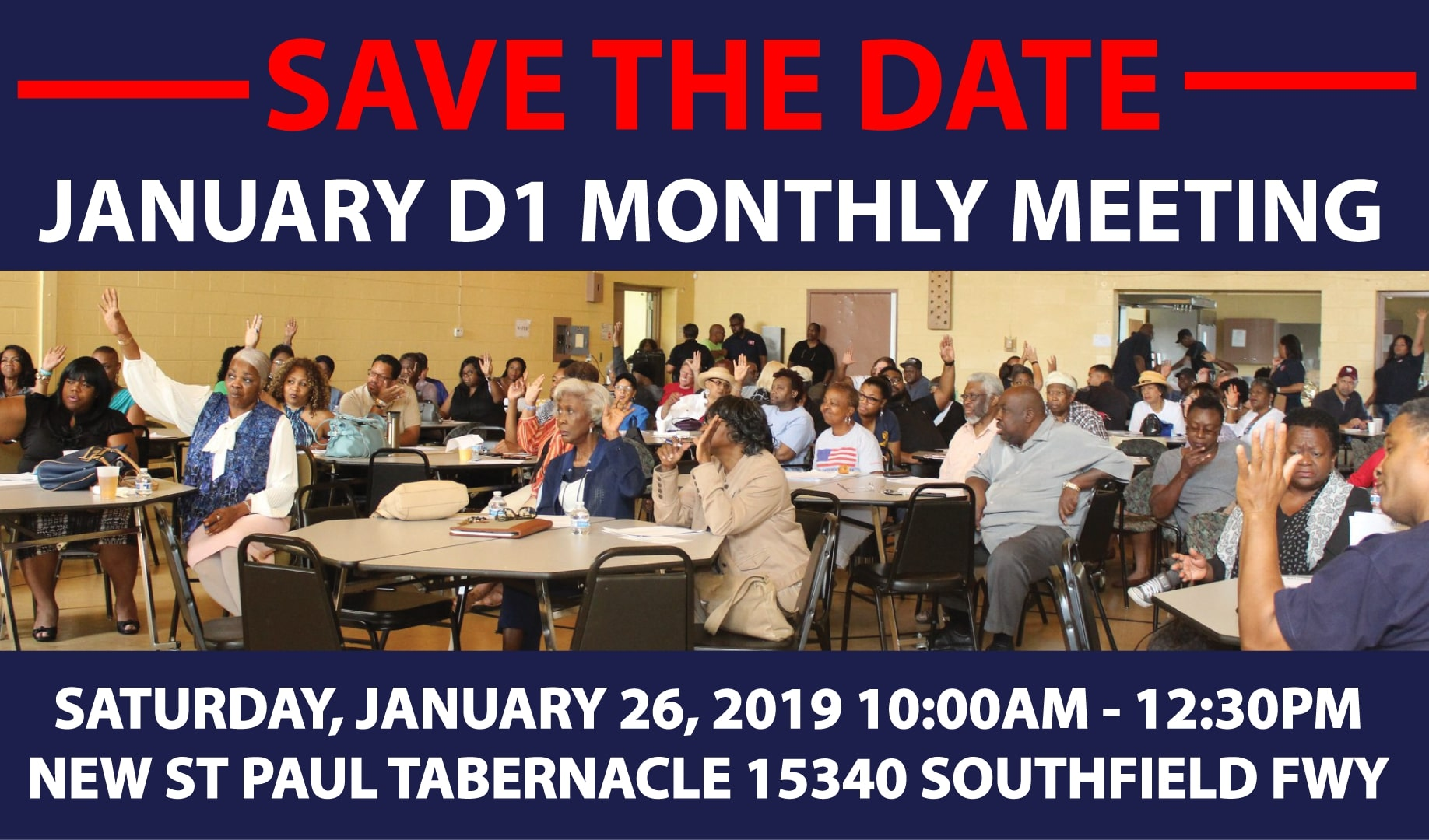 D1 Monthly Meeting Save The Date