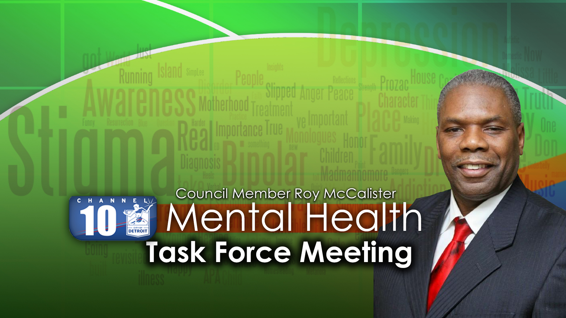 Councilman Roy McCalister, Jr. Mental Health Task Force