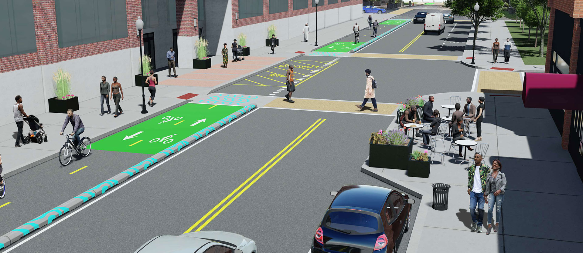 Jos Campau Streetscape Project