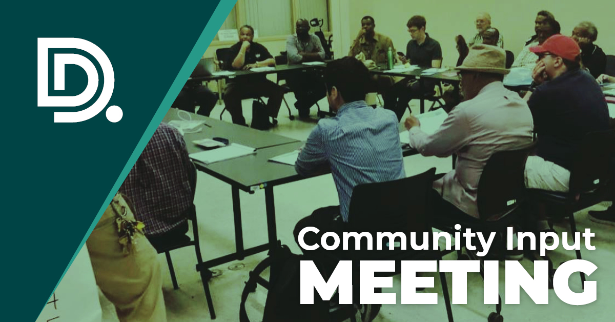 Community Input Meeting