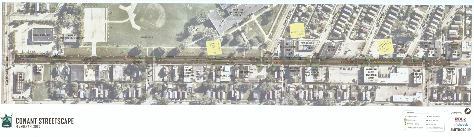 Conant Streetscape Community Meeting #3 Comments Received