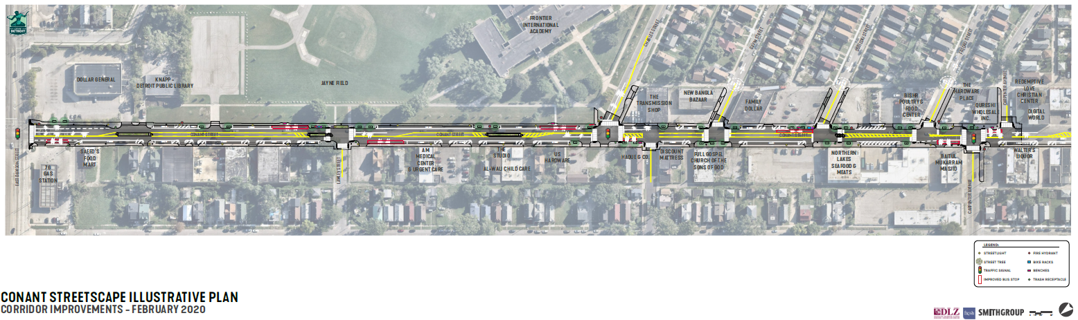 Conant Streetscape Community Meeting #3 Illustrative Plan