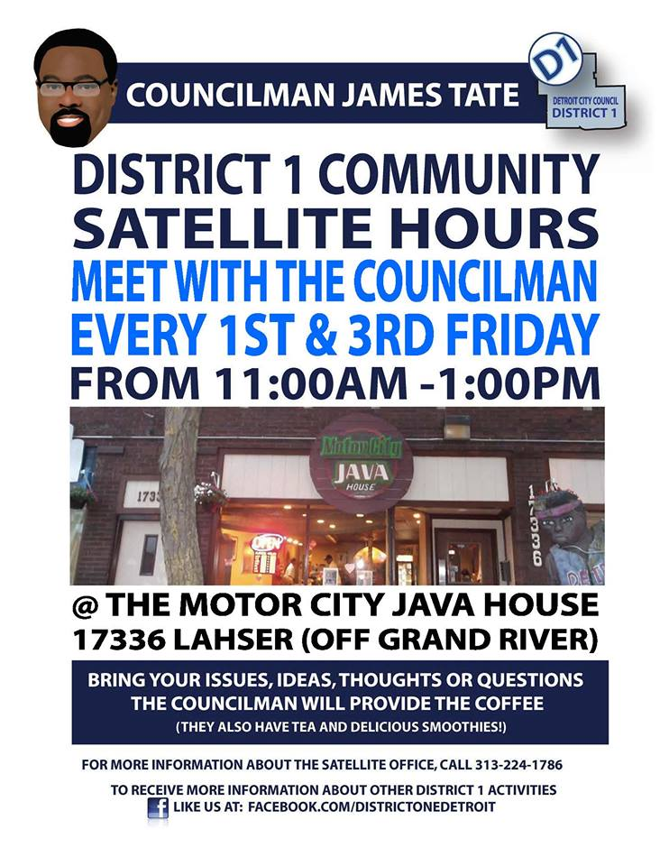 District  1 Satellite Hours Meeting