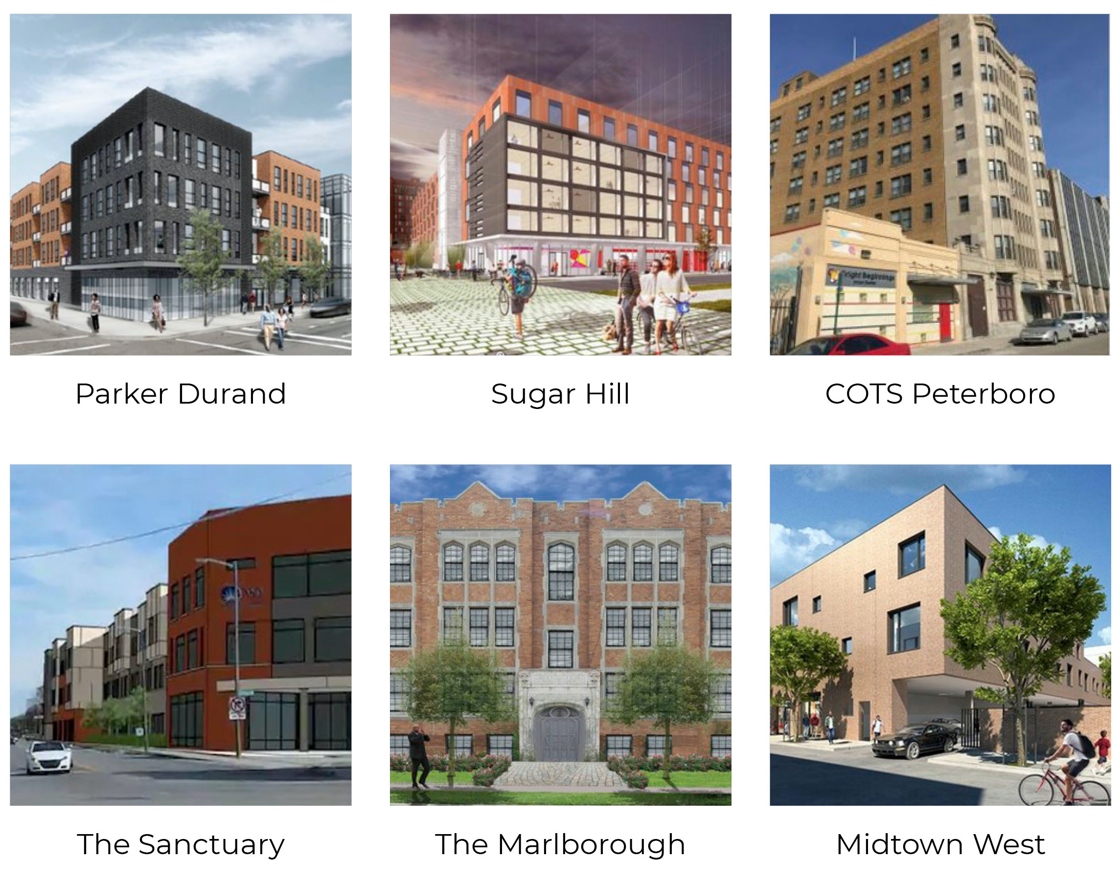 Six new affordable housing units