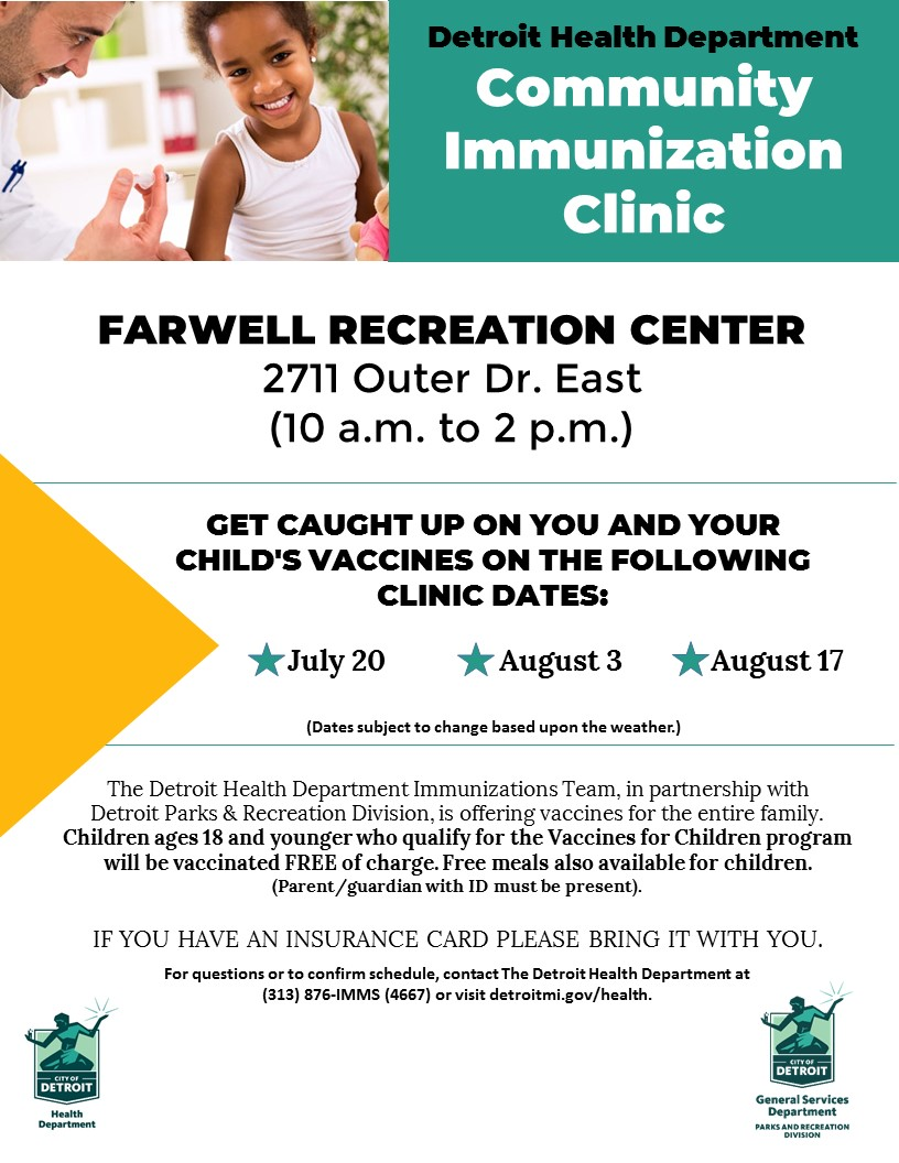 Community Immunizations Clinic