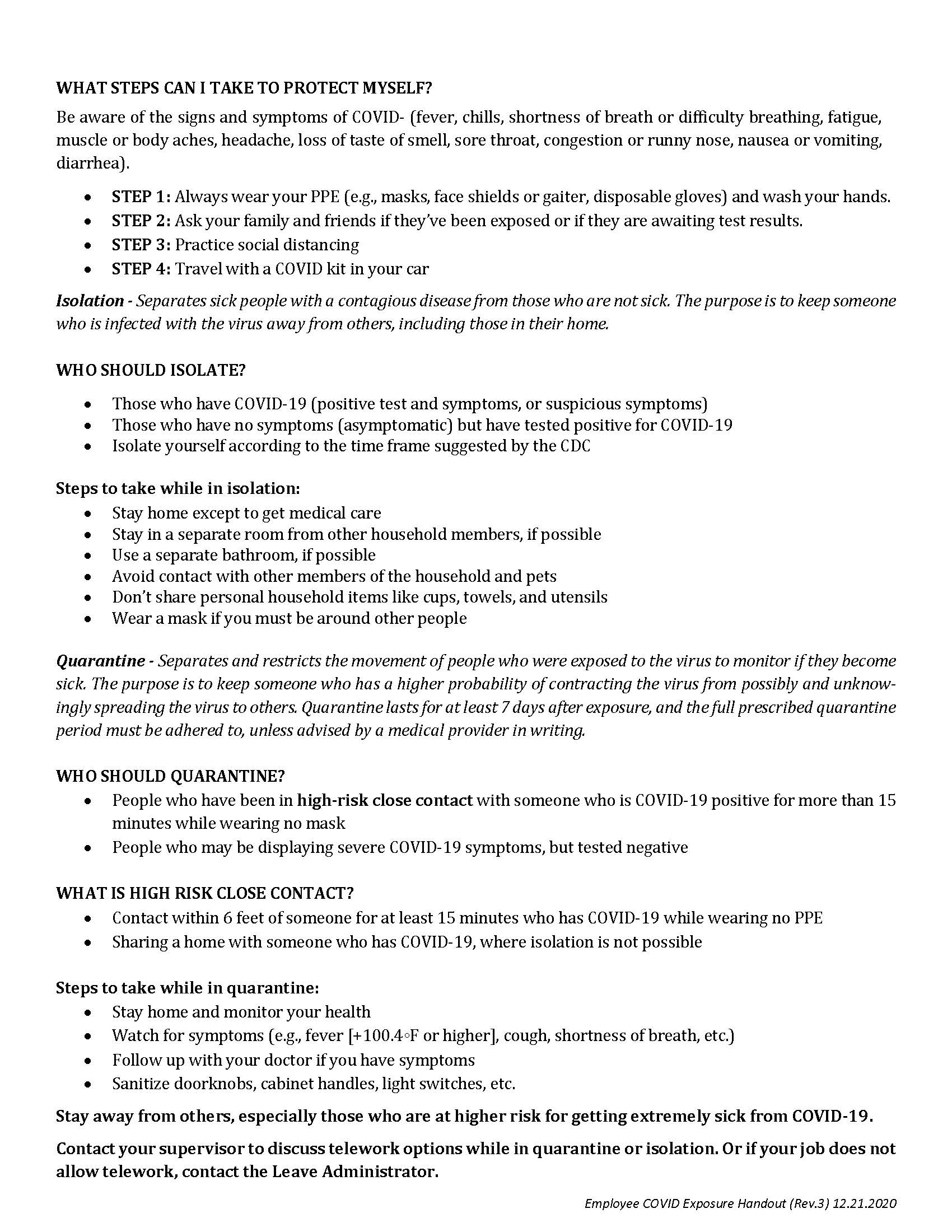 COVID Handout Page 2 (12.21.20)