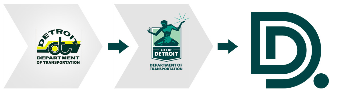 transformation of DDOT logo