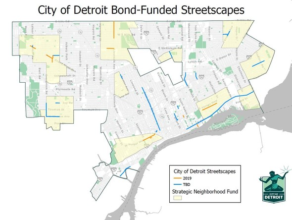 Bond-funded streetscapes
