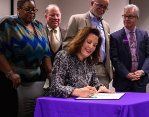 Governor Whitmer signs PAYS legislation into law