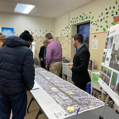 Conant Streetscape Community Meeting #3 Picture 1