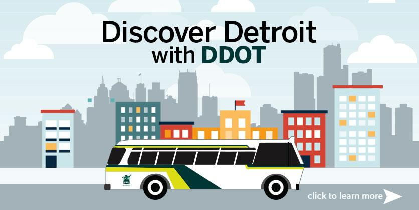 Discover Detroit with DDOT