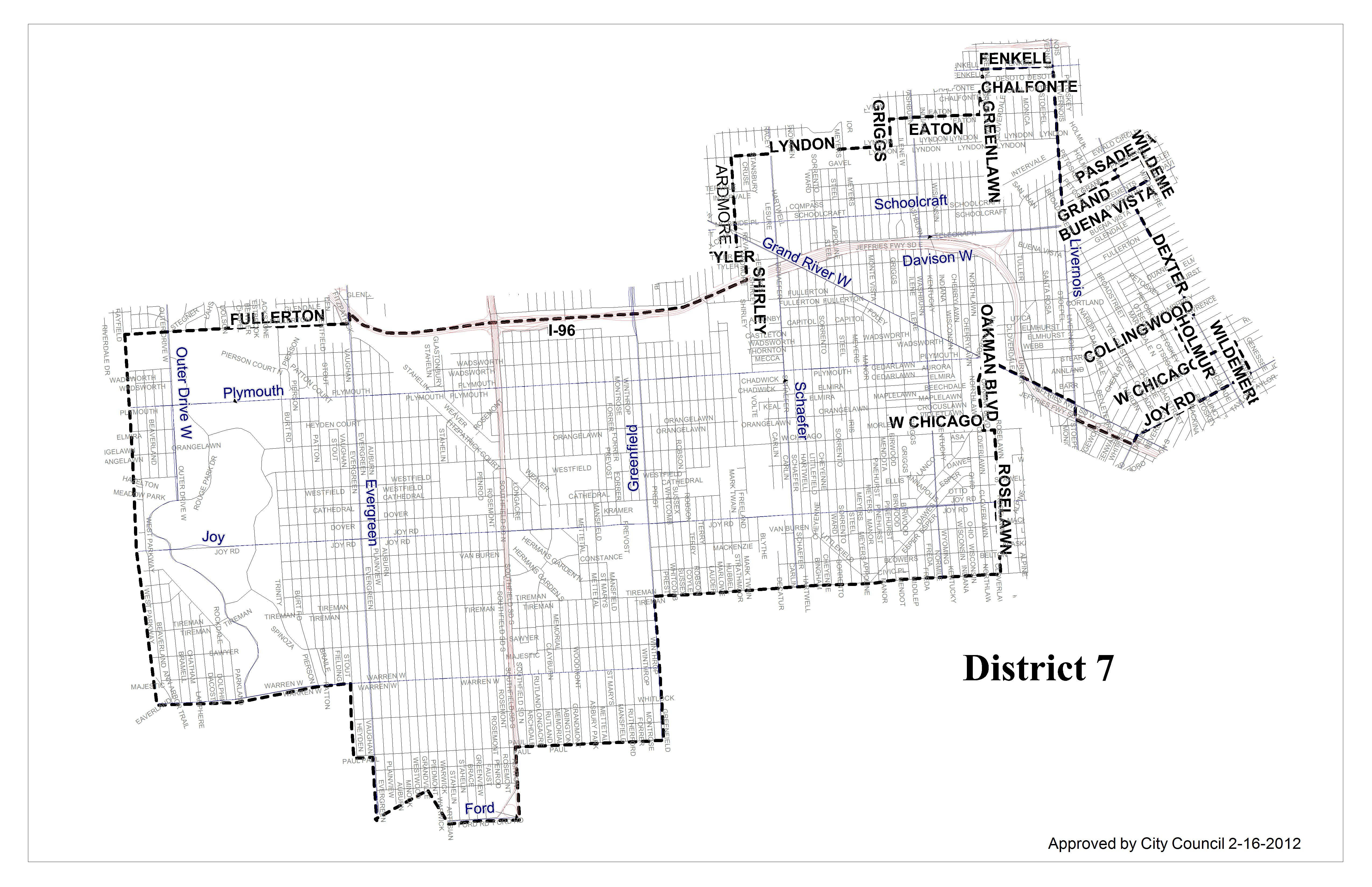 District 7 Map